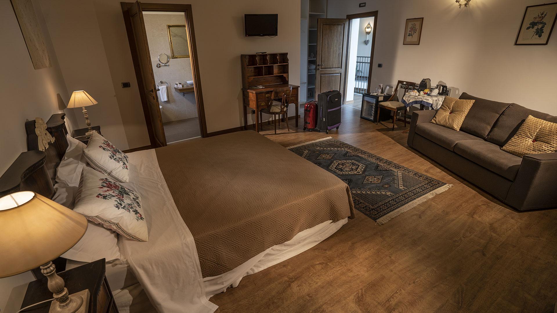 Camere intime e accoglienti